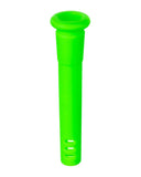 "18mm to 14mm Silicone Downstem 3"" Green"