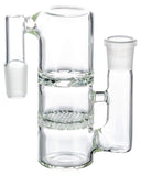 Clear Glass Honeycomb to Turbine Perc Ashcatcher