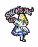 "Dankstop ""Smoke Me"" Alice Pin"