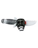 "Empire Glass ""Smoke & Dagger"" Skull Hand Pipe"