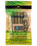 Resealable 5 Pack King Size Pre-Rolls