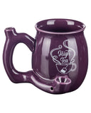 Small Pipe Mug in purple