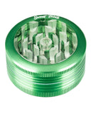 Green 2-Piece Pop Up Diamond Teeth Grinder