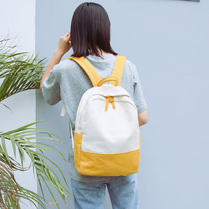 Casual Fashion Women Travel Backpacks Canvas Hit - themomandkidsshop