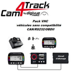 Pack Cam4Track VHC HD1 AIM GPS SOLO 2 DL RPM SMARTYCAM HD