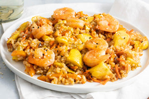 <p>Sesame Shrimp Stir Fry</p>