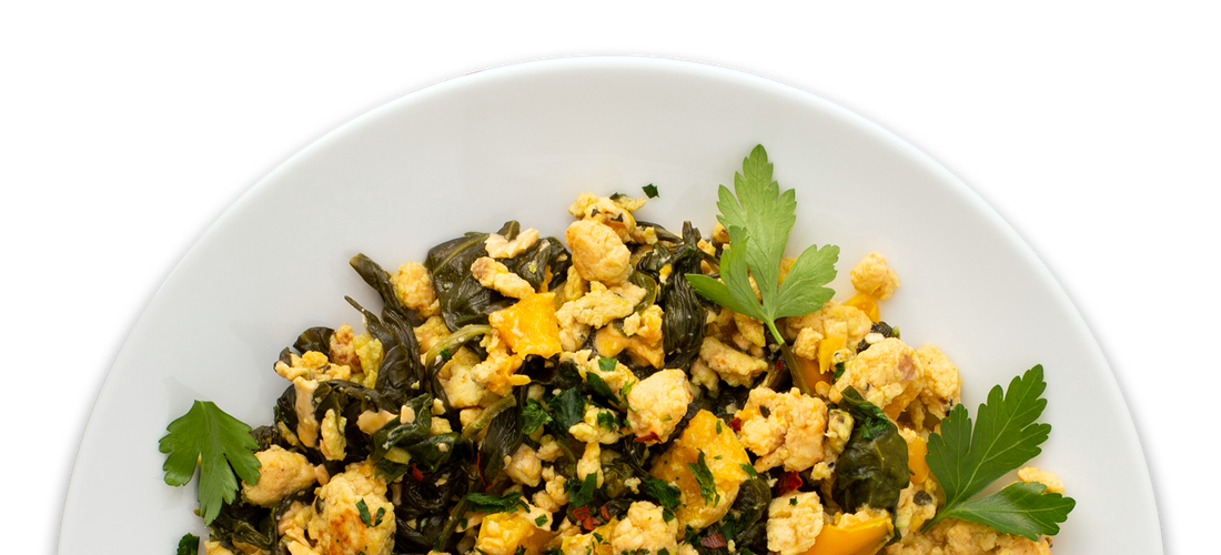 Breakfast Vegetable Scramble