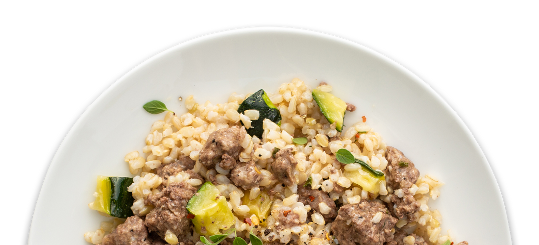 Sweet & Savory Beef with Zucchini