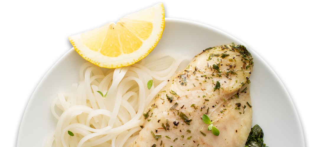 Seafood Piccata with Pasta