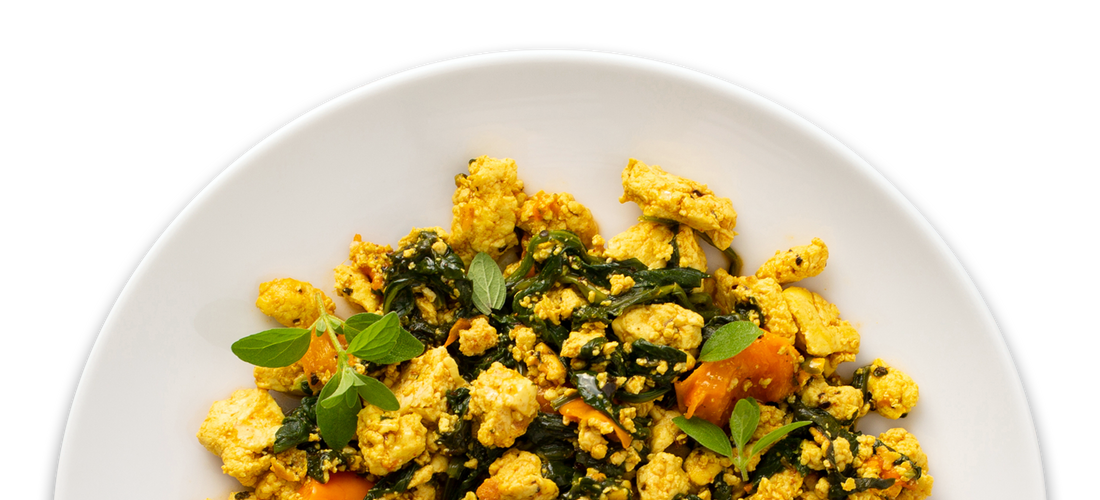 Vegan Vegetable Scramble