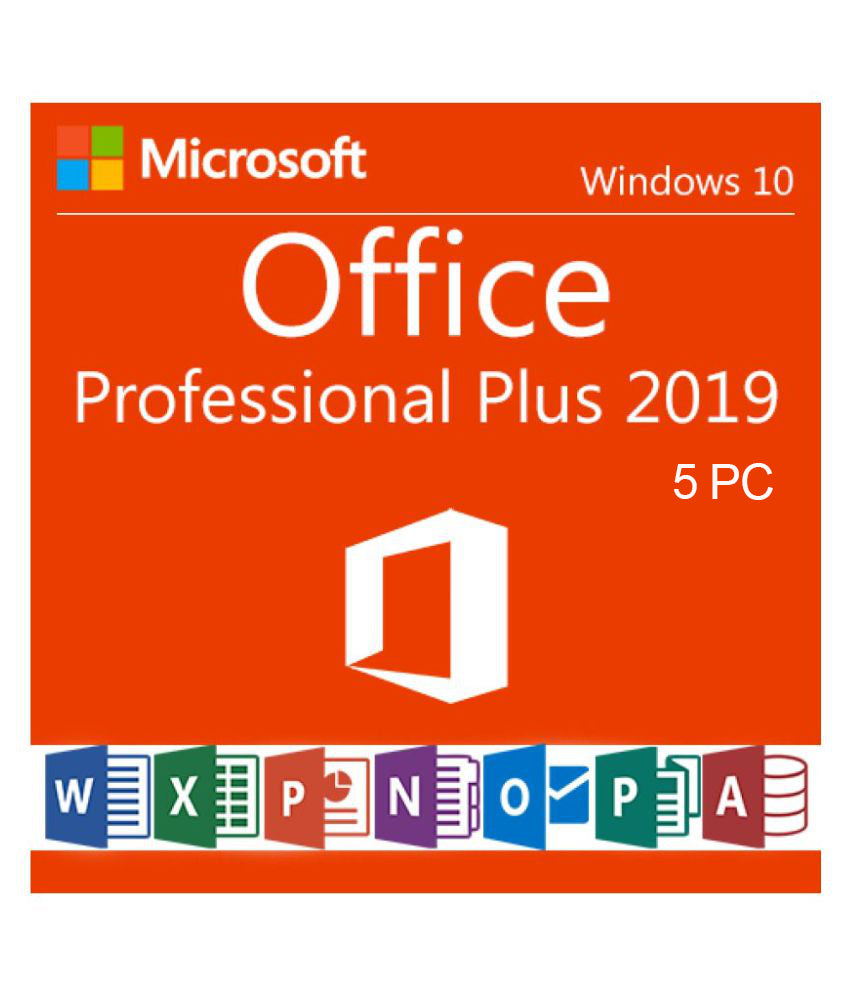 Microsoft Office 2019 Professional Plus 5PC - Soft Deal USA