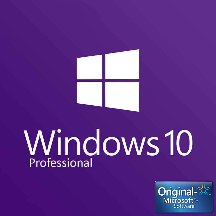 Microsoft Windows 10 Pro License Instant Delivery