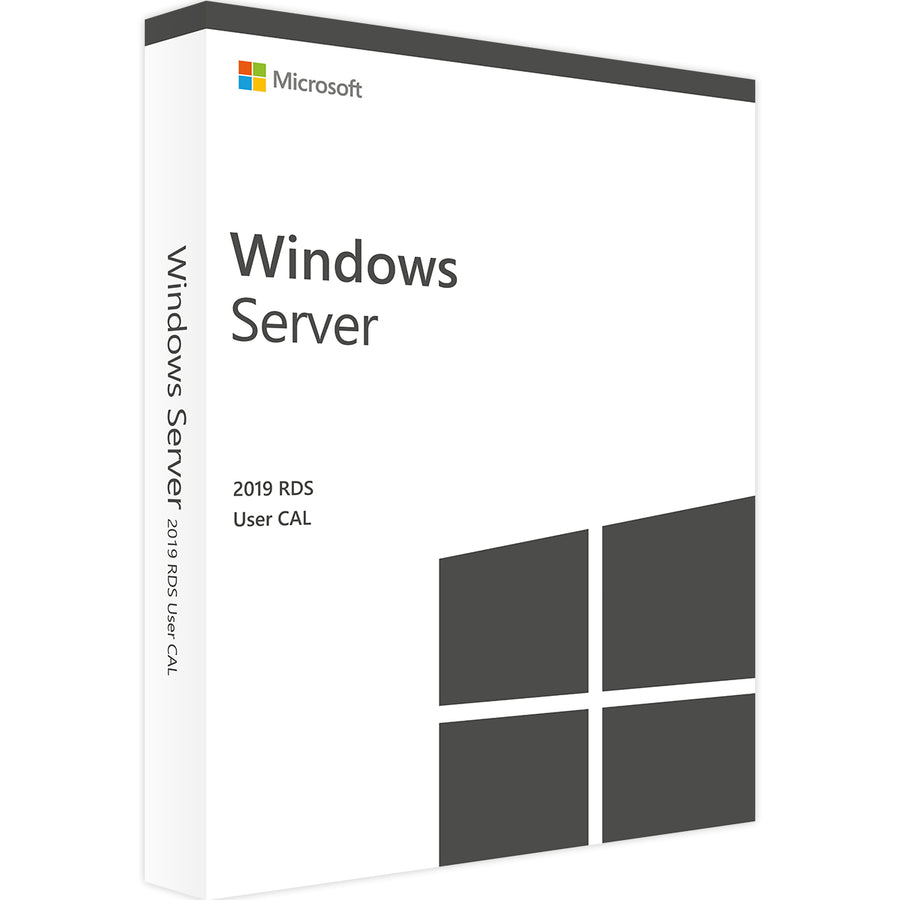 Windows Server 2019 RDS  - 50 User Cals Instant Delivery - Soft Deal USA