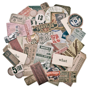 Idea-ology • Tim Holtz ephemera pack expedition
