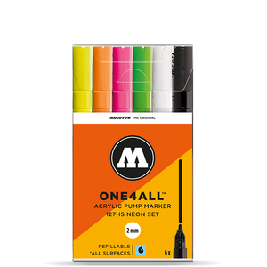 MOLOTOW ONE4ALL  6er NEON-SET