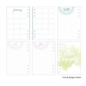 Kelly Creates peace journal  100 Seiten Farbe Mint