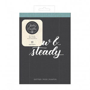 Kelly Creates dotted pad A5