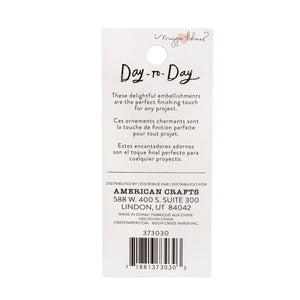 Crate Paper • Day-to-Day disc planner bookmarks Banner charm