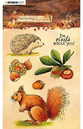 Studio Light • Clear stamp A6 Wonderful autumn nr.479