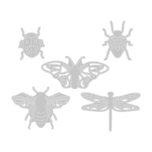 Sizzix •   Stanzen Set 5pk insects