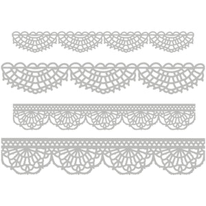 Sizzix • Thinlits die set 4pk crochet --- Tim Holtz