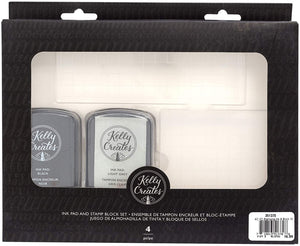 Kelly Creates • Stamping ink & block kit