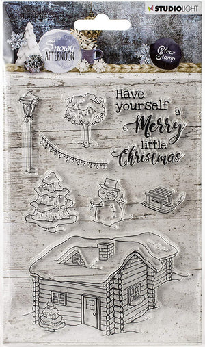 Studio Light • Clear Stamp A6 Snowy Afternoon Nr.399