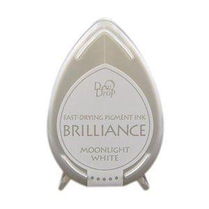 Brilliance dew drop ink pad moonlight white