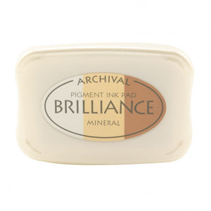 Brilliance ink pad 3-color mineral