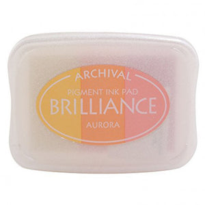 Brilliance ink pad 3-color aurora