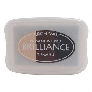 Brilliance ink pad 3-color tiramisu
