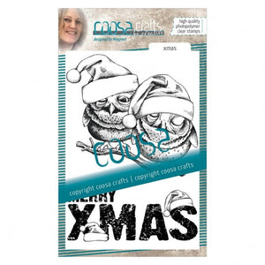 COOSA Crafts • Clear Stempel #17 Xmas
