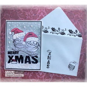 COOSA Crafts • Clear Stempel #17 Xmas 10 Motive