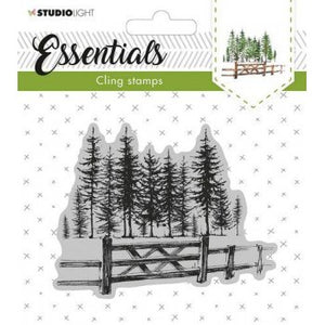 Studio Light cling stamp Essentials christmas nr. 11