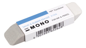 Tombow MONO Sand & Rubber  ES-510A  Radierer, Radiergummi Eraser for Ink & Pencil