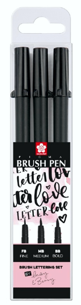 "Sakura PIGMA® Brush Pen 3er Set ""May & Berry"""