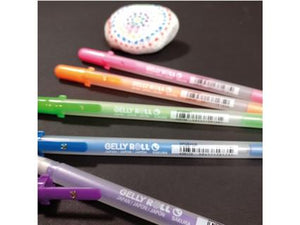 Sakura Gelly Roll  Kombiset 24 Stück - Moonlight Fluorescent - Stardust Glitter - Metallic Shiny