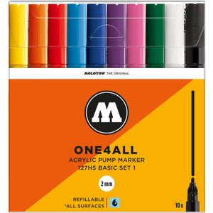 MOLOTOW ONE4ALL 10er BASIC-SET 1