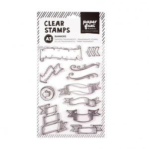 Paperfuel • Clear stamps Banner