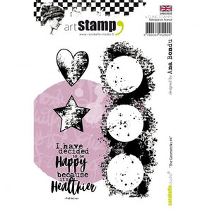 Carabelle Studio • Cling Stamp A6 the geometriks #4