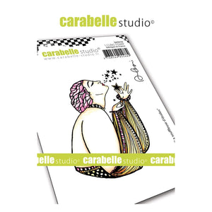 Carabelle cling stamp la souffleuse d'etoiles (die Sternpusterin)