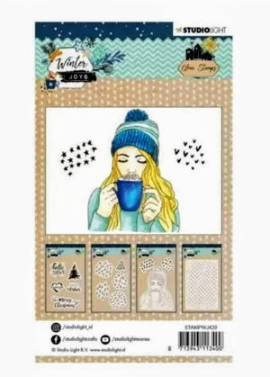 Studio Light • Clear Stamp A6 Winter Joys Nr.420