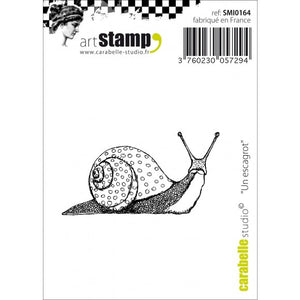 Carabelle cling stamp mini un escargot (Schnecke)
