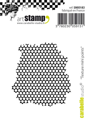"Carabelle Studio •  cling stamp mini  ""Texture mini Points"""