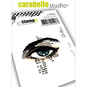 Carabelle cling stamp l'oeil (das Auge) by Alexi