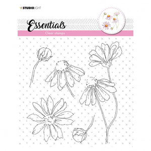 Studio Light • Clear stamp 17x17cm essentials nr.463