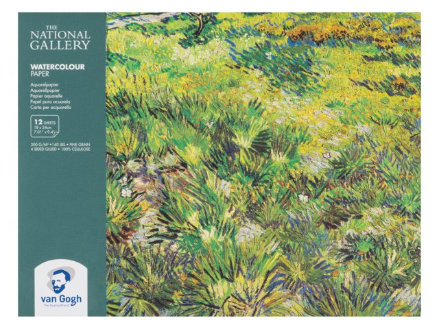 Royal Talens Van Gogh Aquarel Papier National Gallery 18 x 24 cm  12 Blatt 300g/m²
