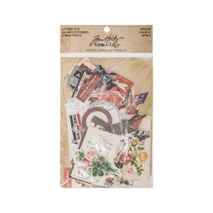 Idea-ology • Tim Holtz ephemera pack emporium