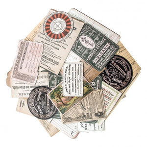 Idea-ology • Tim Holtz ephemera pack layers collector