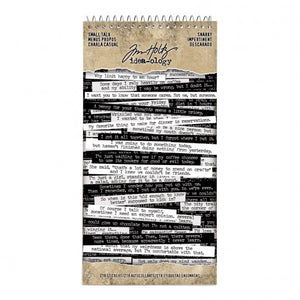 Idea-ology • Tim Holtz small talk snarky  218 words stickers